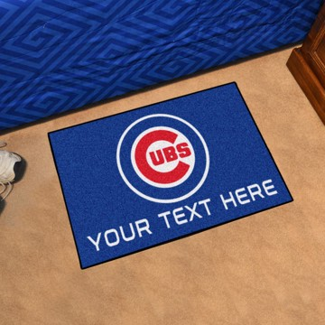 Picture of Chicago Cubs Personalized Accent Mat