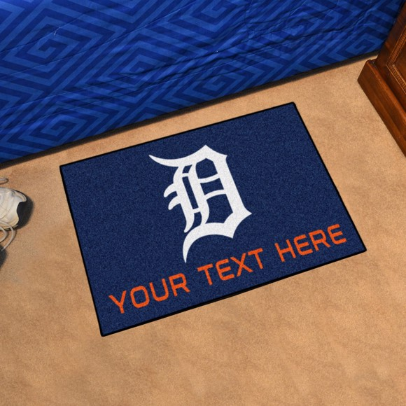 new arrival 8a604 045fb Detroit Tigers Personalized Accent Mat