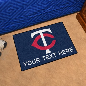 Picture of Minnesota Twins Personalized Accent Mat