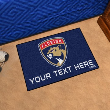 Picture of Florida Panthers Personalized Accent Mat