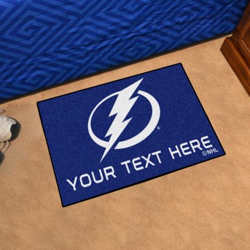 Picture of NHL - Tampa Bay Lightning Personalized Starter Mat