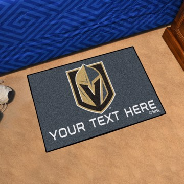 Picture of NHL - Vegas Golden Knights Personalized Starter Mat
