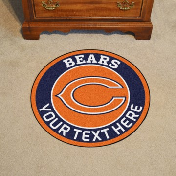 Picture of Chicago Bears Personalized Roundel Mat