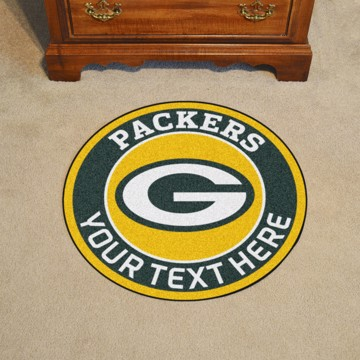 Picture of Green Bay Packers Personalized Roundel Mat