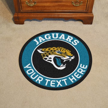 Picture of Jacksonville Jaguars Personalized Roundel Mat