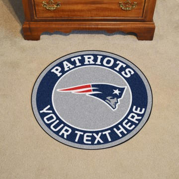 Picture of New England Patriots Personalized Roundel Mat