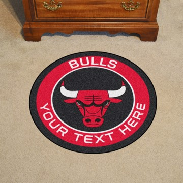 Picture of NBA - Chicago Bulls Personalized Roundel Mat