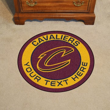 Picture of NBA - Cleveland Cavaliers Personalized Roundel Mat