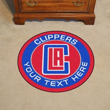Picture of Los Angeles Clippers Personalized Roundel Mat