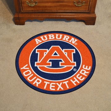 Picture of Auburn Personalized Roundel Mat