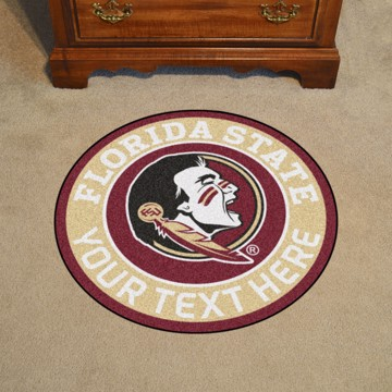 Picture of Florida State Personalized Roundel Mat