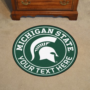 Picture of Personalized Michigan State University Roundel Mat
