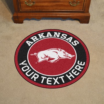 Picture of Arkansas Personalized Roundel Mat