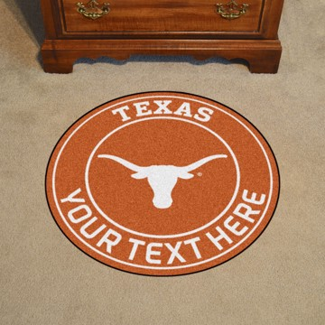 Picture of Personalized University of Texas Roundel Mat