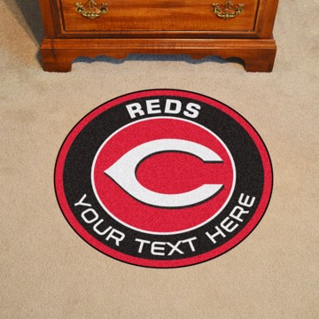 Picture of Cincinnati Reds Personalized Roundel Mat