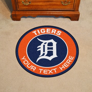 Picture of Detroit Tigers Personalized Roundel Mat