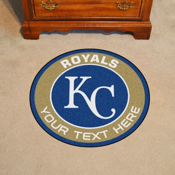 Picture of Kansas City Royals Personalized Roundel Mat