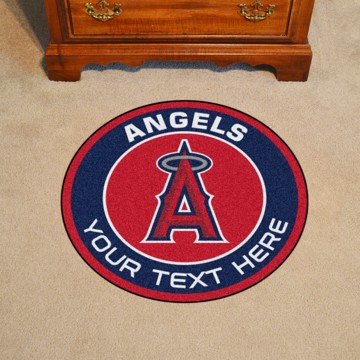 Picture of MLB - Los Angeles Angels Personalized Roundel Mat