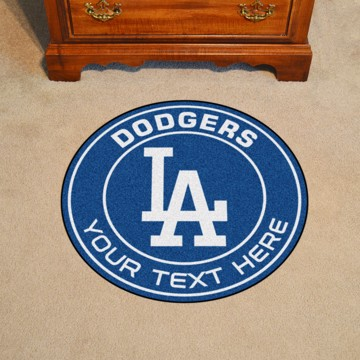 Picture of Los Angeles Dodgers Personalized Roundel Mat