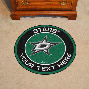 Picture of NHL - Dallas Stars Personalized Roundel Mat