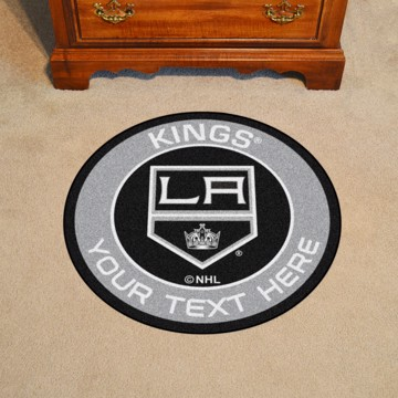 Picture of Los Angeles Kings Personalized Roundel Mat