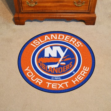 Picture of New York Islanders Personalized Roundel Mat