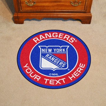 Picture of New York Rangers Personalized Roundel Mat
