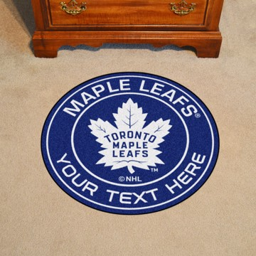 Picture of NHL - Toronto Maple Leafs Personalized Roundel Mat
