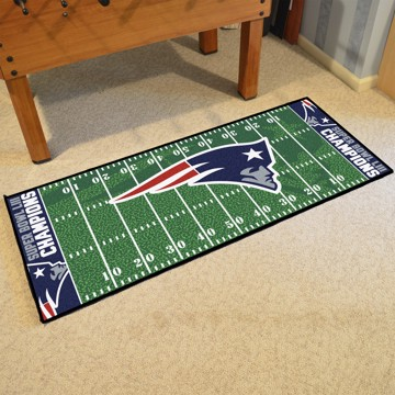 Picture of NFL - New England Patriots Super Bowl LIII Champions Football Field Runner