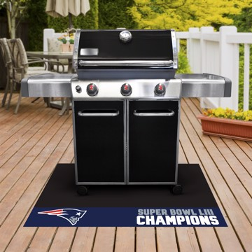 Picture of NFL - New England Patriots Super Bowl LIII Champions Grill Mat