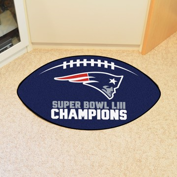 Picture of NFL - New England Patriots Super Bowl LIII Champions Football Mat