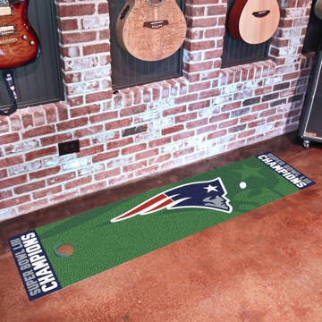 Picture of NFL - New England Patriots Super Bowl LIII Champions Putting Green Mat