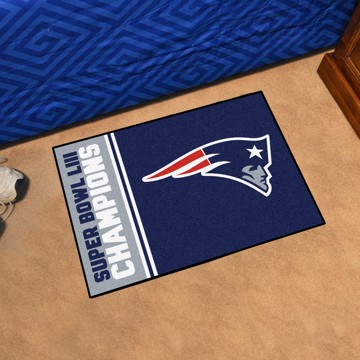 Picture of NFL - New England Patriots Super Bowl LIII Champions Starter Mat