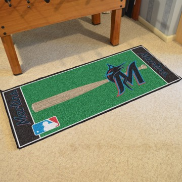 Picture of MLB - Miami Marlins Baseball Runner