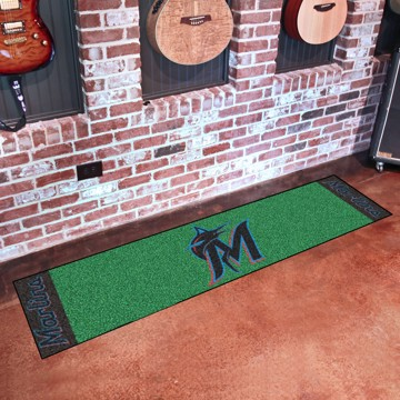 Picture of MLB - Miami Marlins Putting Green Mat
