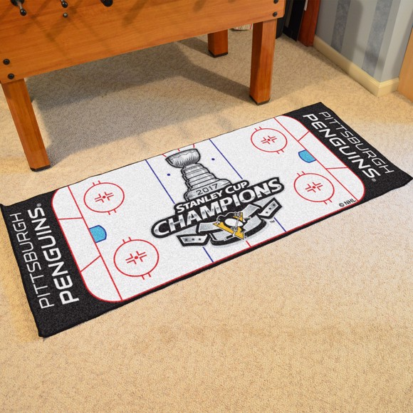 Picture of NHL - Pittsburgh Penguins 2017 Stanley Cup Champions Rink Runner