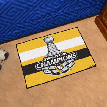 Picture of NHL - Pittsburgh Penguins 2017 Stanley Cup Champions Starter Mat