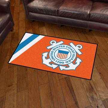 Picture of U.S. Coast Guard 3'x5' Plush Rug