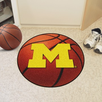 Picture of Michigan Basketball Mat