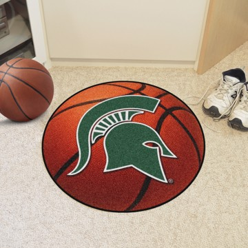 Picture of Michigan State Basketball Mat