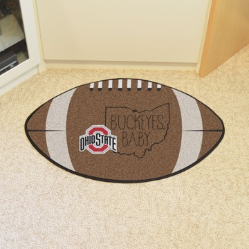 Picture of Ohio State Southern Style Football Mat