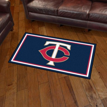 Picture of MLB - Minnesota Twins 3'x5' Plush Rug