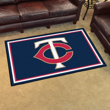 Picture of MLB - Minnesota Twins 4'x6' Plush Rug