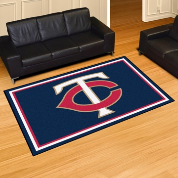 Picture of MLB - Minnesota Twins 5'x8' Plush Rug