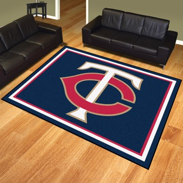 Picture of MLB - Minnesota Twins 8'x10' Plush Rug