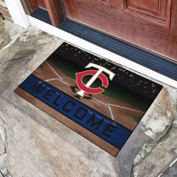Picture of MLB - Minnesota Twins Crumb Rubber Door Mat