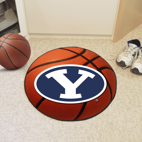 Picture of Brigham Young Basketball Mat