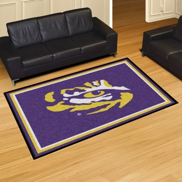 Picture of LSU 5'x8' Plush Rug