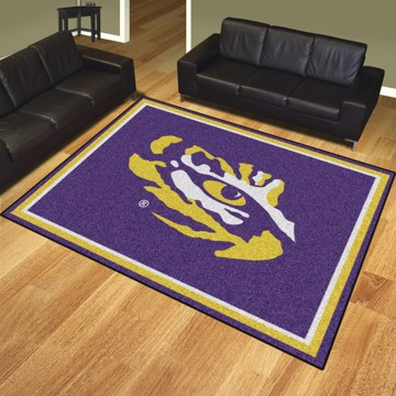 Picture of LSU 8'x10' Plush Rug