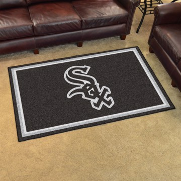 Picture of MLB - Chicago White Sox 4'x6' Plush Rug